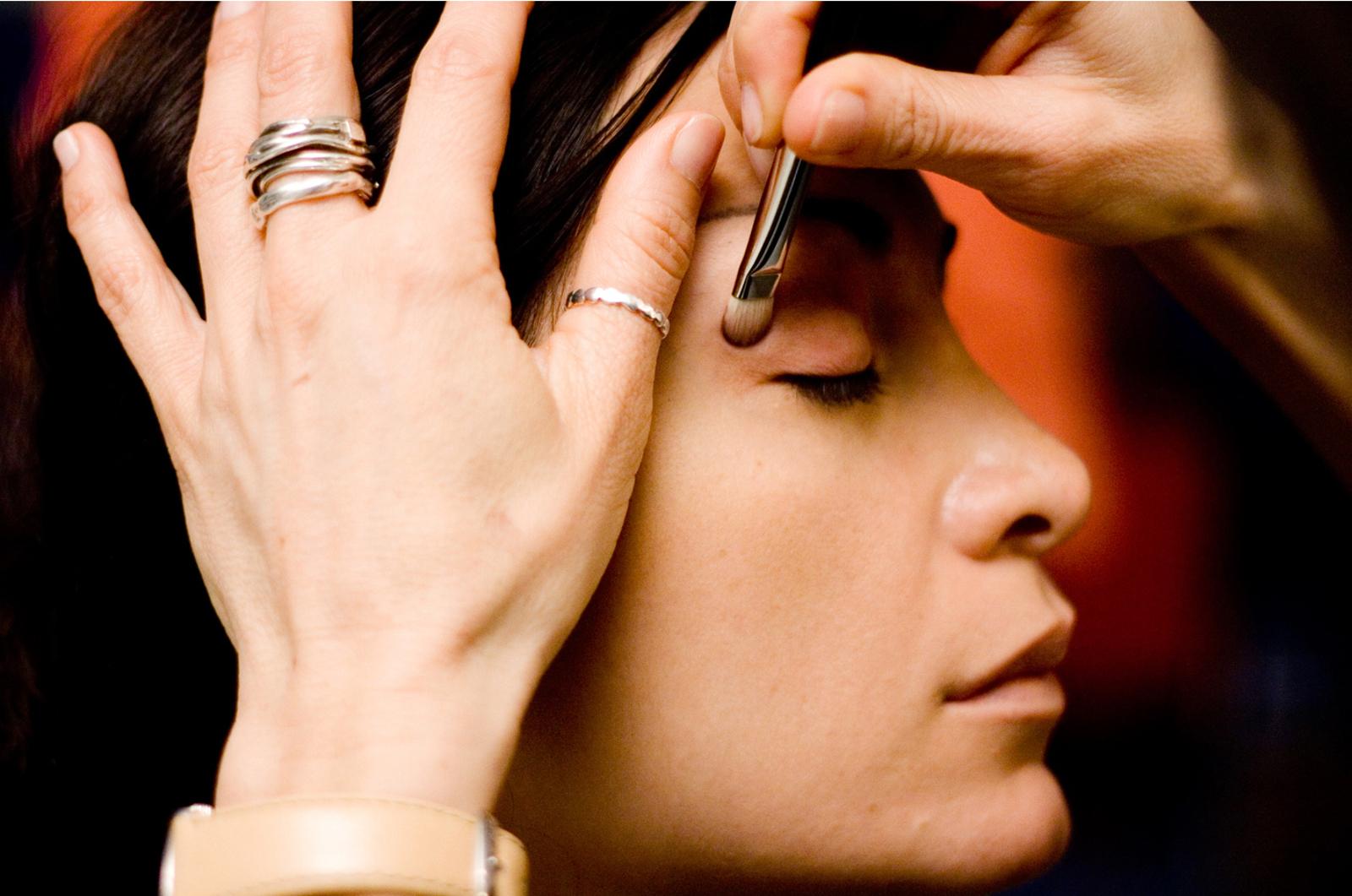 makijaż oczu - wykonanie